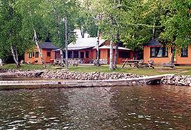 Cabins and Lake