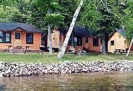 Cabins & Lake